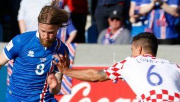 Iceland 1 - 0 Croatia