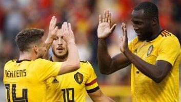 Belgium  4 - 1  Costa Rica