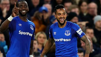 Everton  1 - 0  Newcastle United