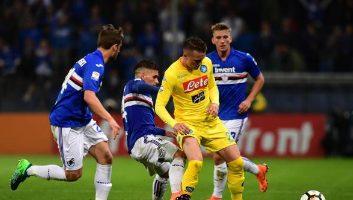 Sampdoria  0 - 2  SSC Napoli