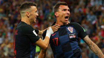 Croatia 1 - 1 Denmark