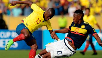 Ecuador 0 - 2 Colombia