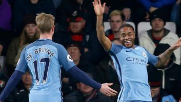 AFC Bournemouth 0 - 2 Manchester City