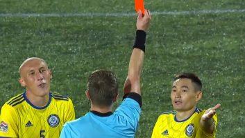 Andorra  1 - 1  Kazakhstan