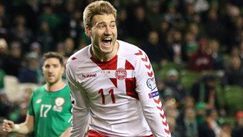 Ireland  1 - 5  Denmark