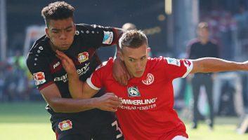 Mainz 05           2 : 3            Bayer Leverkusen