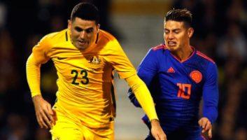 Australia  0 - 0  Colombia