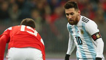 Russia  0 - 1  Argentina