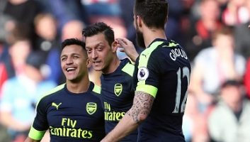 Stoke City 1 - 4 Arsenal