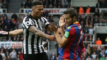 Newcastle United  1 - 0  Crystal Palace