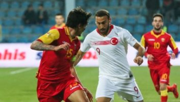 Montenegro  2 - 2  Turkey
