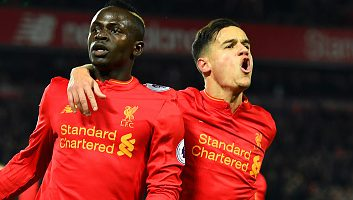 Liverpool 2 - 0 Tottenham Hotspur