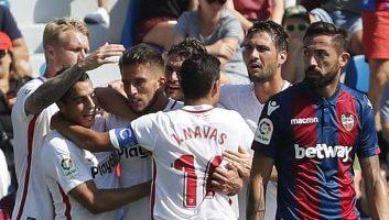 Levante  2 - 6  Sevilla