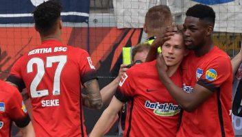 Eintracht Frankfurt  0 - 3  Hertha Berlin