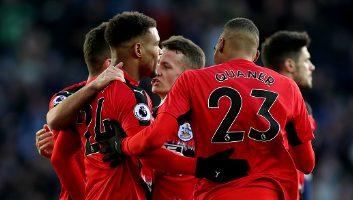 West Bromwich Albion  1 - 2  Huddersfield Town