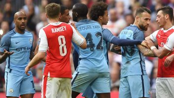 Arsenal 2 - 1 Manchester City