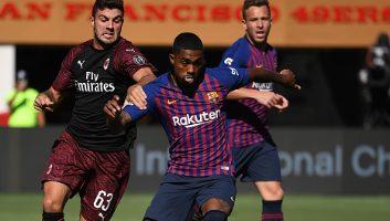 AC Milan  1 - 0  Barcelona