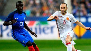 France 0 - 2 Spain