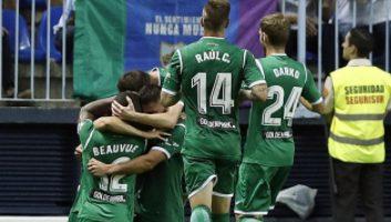 Malaga  0 - 2  Leganes