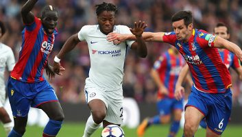 Crystal Palace  2 - 1  Chelsea