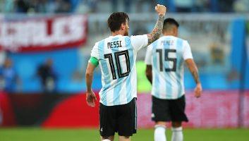 Nigeria  1 - 2  Argentina