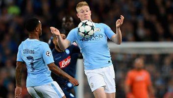 Manchester City  2 - 1  SSC Napoli