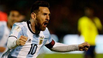 Ecuador  1 - 3  Argentina