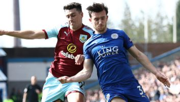 Burnley  2 - 1  Leicester City
