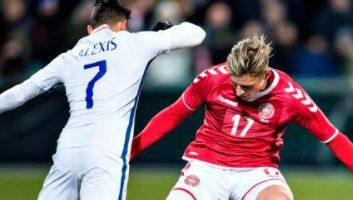 Denmark  0 - 0  Chile
