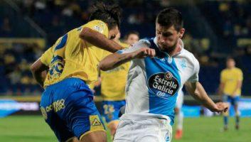 Las Palmas  2 - 3  Deportivo La Coruna