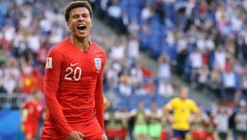 Sweden 0 - 2 England
