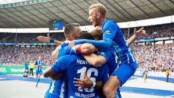 Hertha Berlin  4 - 2  Borussia M'gladbach