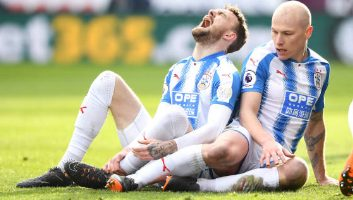 Huddersfield Town  0 - 2  Crystal Palace
