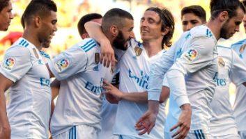 Las Palmas  0 - 3  Real Madrid
