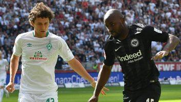 Eintracht Frankfurt  1 - 2  Werder Bremen