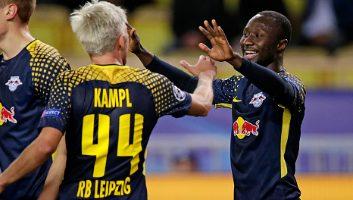 Monaco  1 - 4  RasenBallsport Leipzig