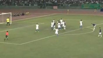 Cambodia 2 - 3 India