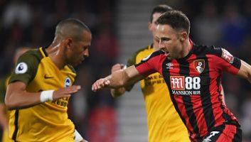AFC Bournemouth  2 - 1  Brighton & Hove Albion