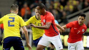 Sweden  1 - 2  Chile