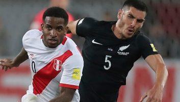Peru  2 - 0  New Zealand
