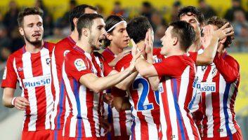 Las Palmas 0 - 2 Atletico Madrid