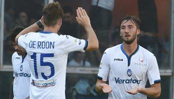 Sampdoria  3 - 1  Atalanta