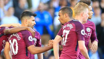Brighton & Hove Albion 0 - 2 Manchester City