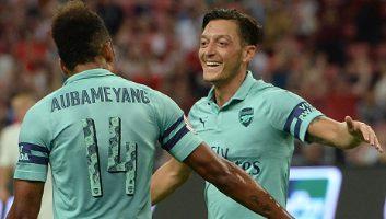 Arsenal  5 - 1  Paris Saint Germain