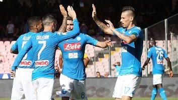 SSC Napoli  6 - 0  Benevento