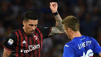Sampdoria           0 : 1            AC Milan