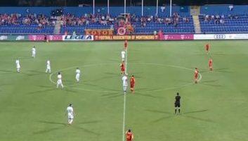 Montenegro  0 - 2  Slovenia