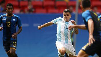 Argentina U23 1 - 1 Honduras U23