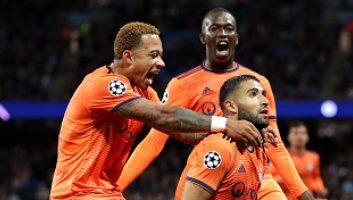 Manchester City  1 - 2  Lyon