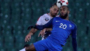 Bulgaria  0 - 1  France